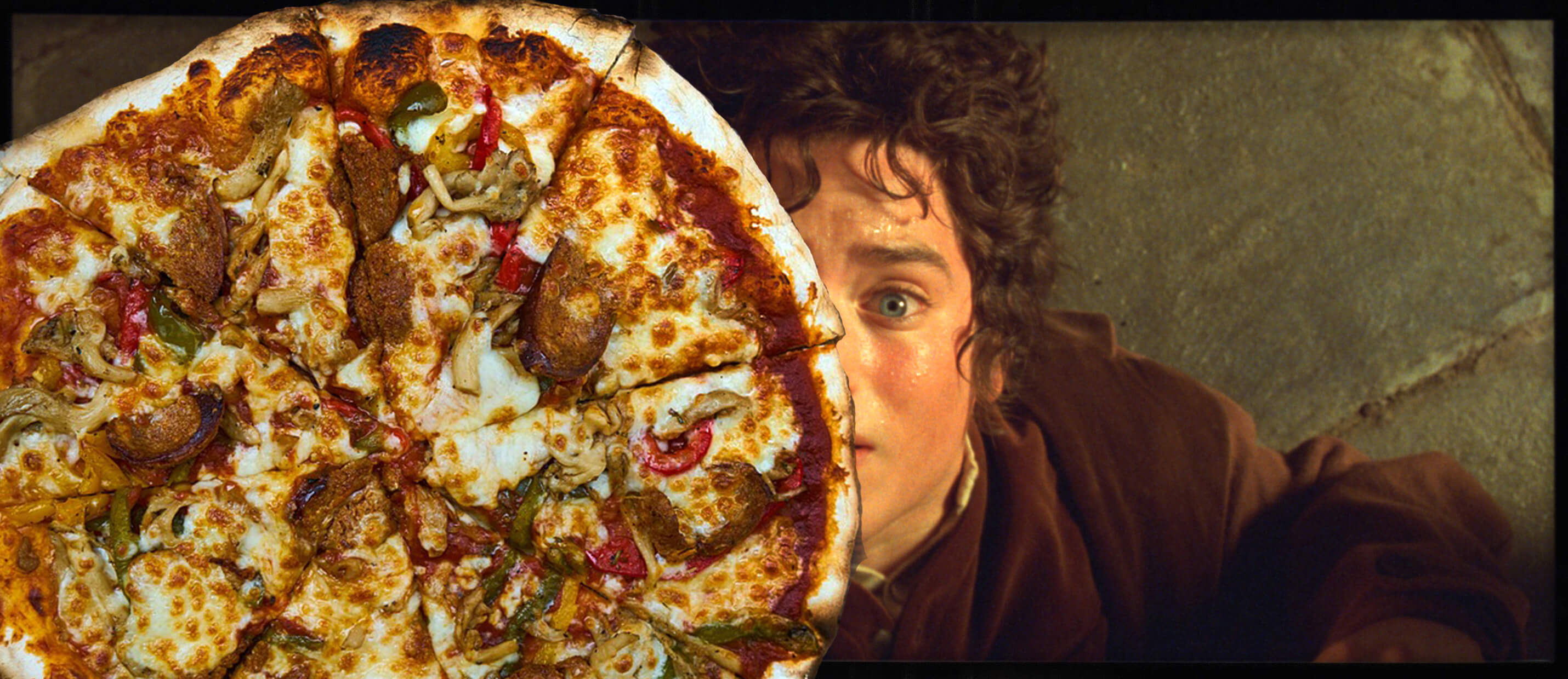 frodo and pizza