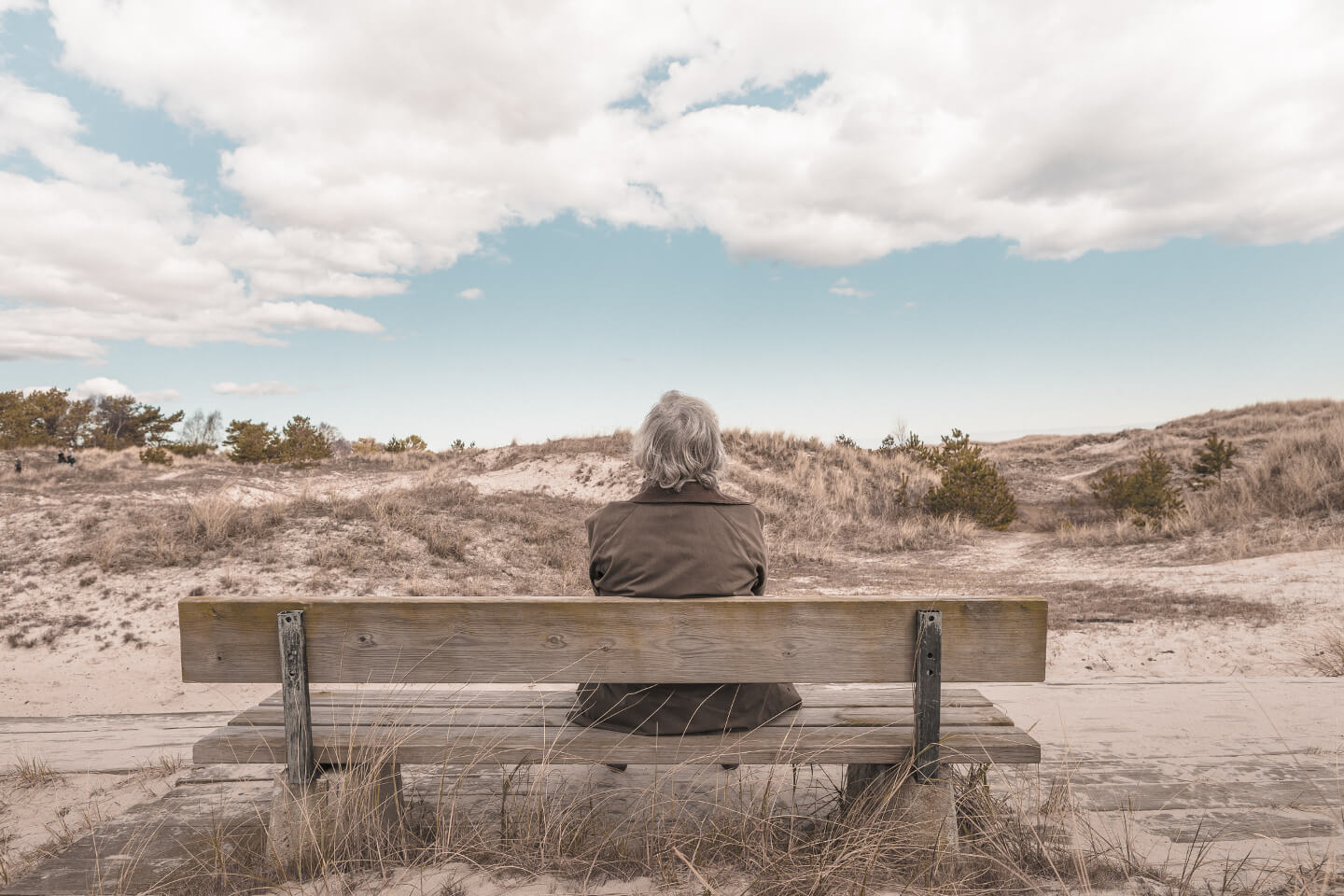 man on bench-small