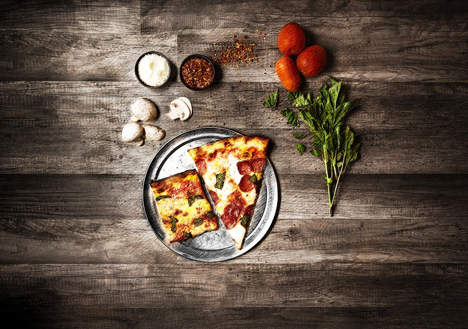 Pizza as a part of a healthy lifestyle