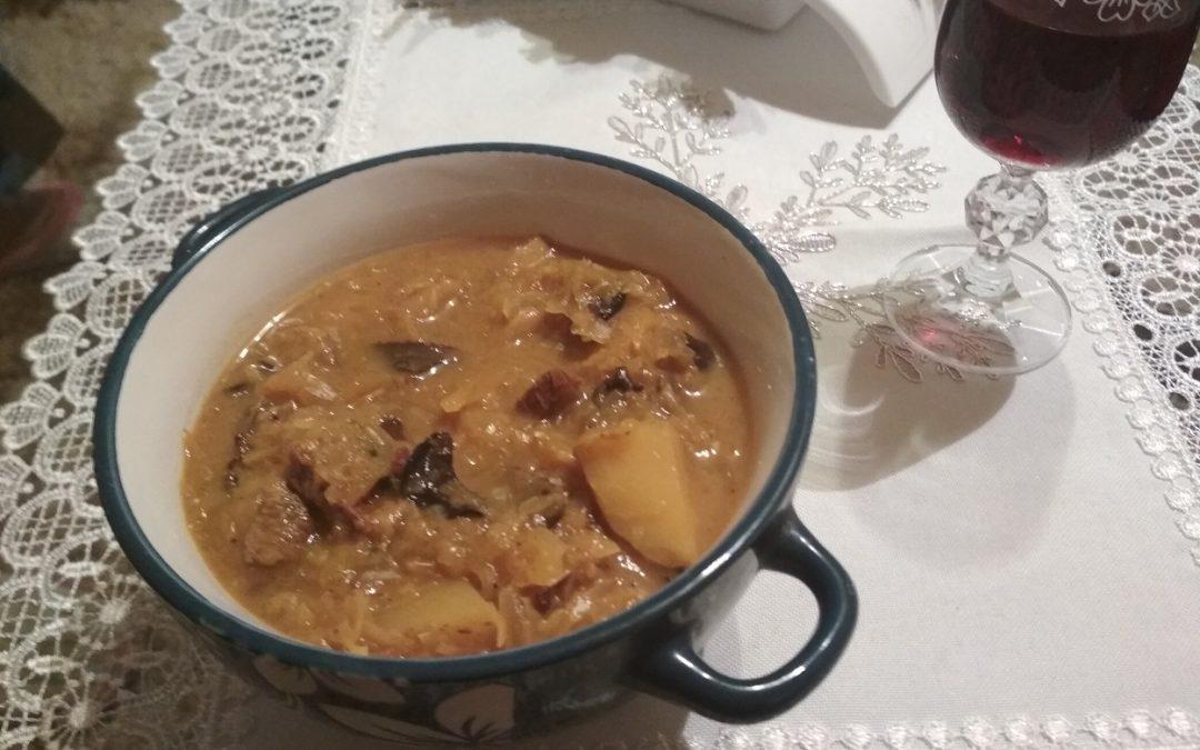 Christmas Cabbage Soup Traditional Christmas Soup Veganized