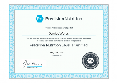 precision-nutrition-daniel-weiss-l1-certification