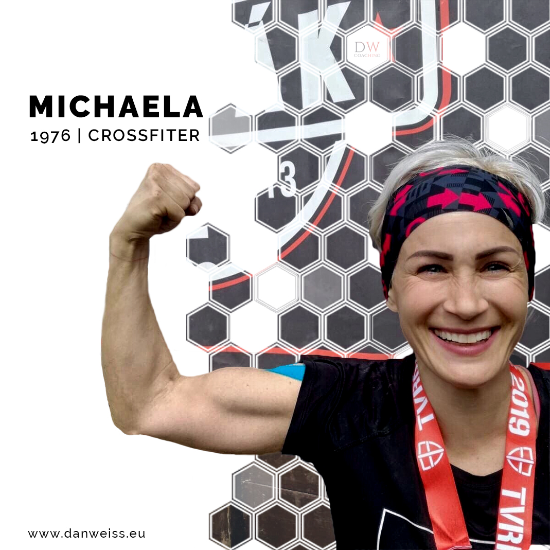 How Michaela got her abs definition in her 40s after years of struggle