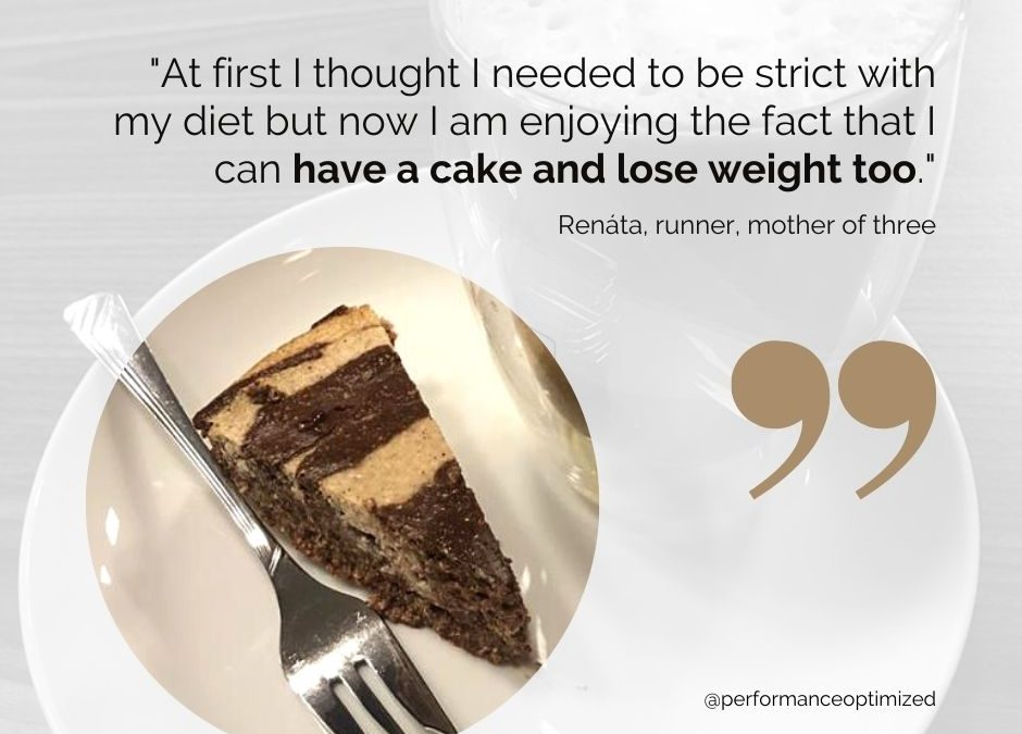 Renata Case Study: 42 y.o. active mother of three found success in moderation