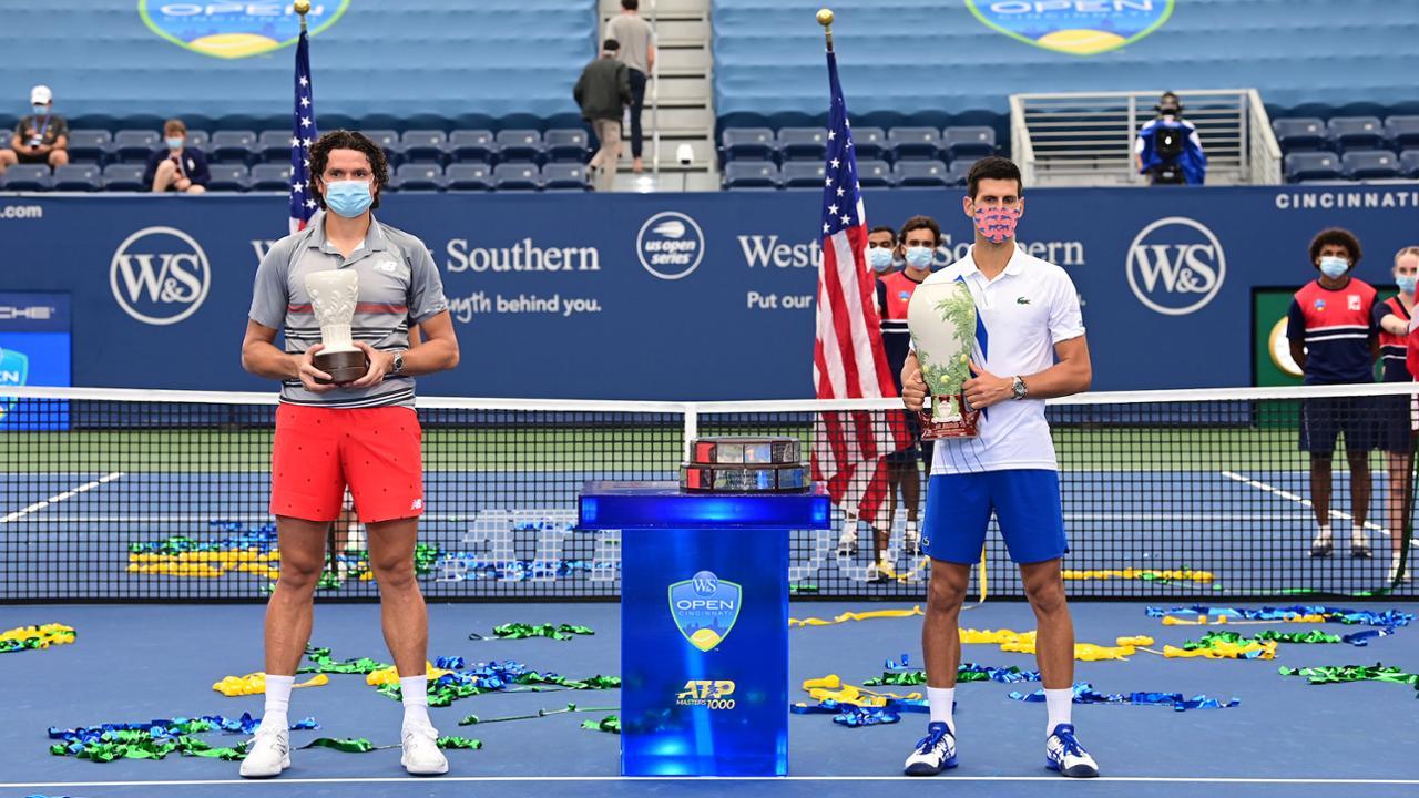 Raonic and Djokovic
